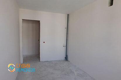 Черновая отделка ванной в двухкомнатной новостройке 39 кв. м.