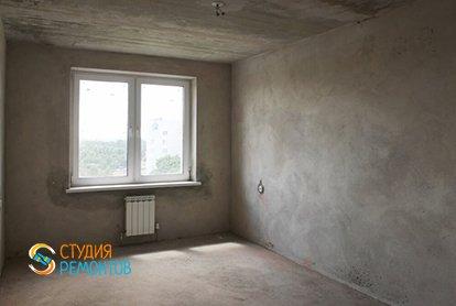 Черновой ремонт комнаты в 1-комнатной квартире 40 кв.м.