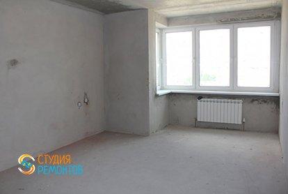 Черновой ремонт кухни в 1-комнатной квартире 40 кв.м.