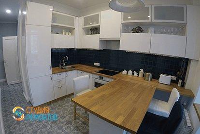 Ремонт кухни в однушке 43 кв.м. после черновой отделки