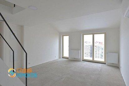 Черновая отделка двухэтажной студии 37 кв.м., фото-2