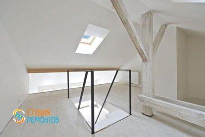 Черновая отделка двухэтажной студии 37 кв.м., фото-3