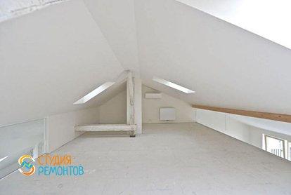 Черновой ремонт двухуровневой студии 42 кв.м., фото-2