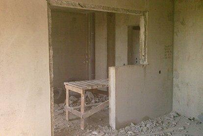 Частичный демонтаж покрытий в квартире 33 кв.м.