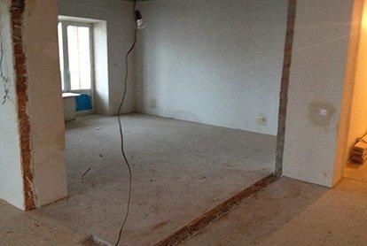 Демонтажные работы в квартире 45 кв.м. под ключ