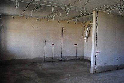 Полный комплекс демонтажных работ в студии 30 м2