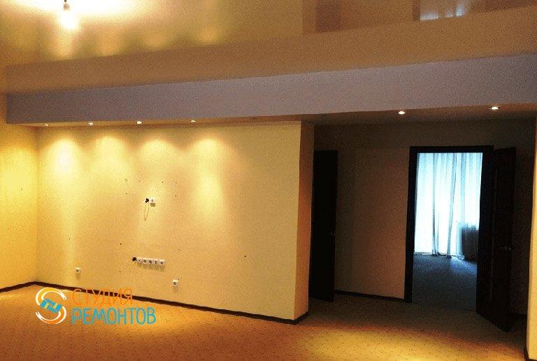 Дизайнерский ремонт кухни-столовой в 2-х комнатной квартире 53 кв.м., фото-1