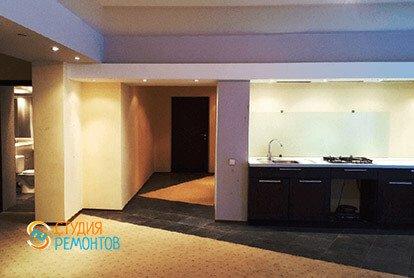 Дизайнерский ремонт кухни-столовой в 2-х комнатной квартире 53 кв.м., фото-2