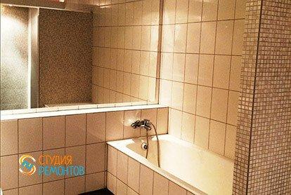 Дизайнерский ремонт санузла в 2-х комнатной квартире 53 кв.м., фото-1