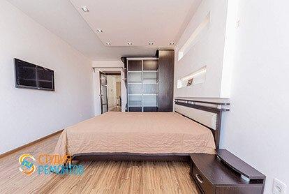 Дизайнерский ремонт спальни в евродвушке 48 кв.м.