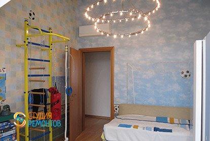 Дизайнерский ремонт детской в 3-х комнатной квартире 73 м2, фото-1