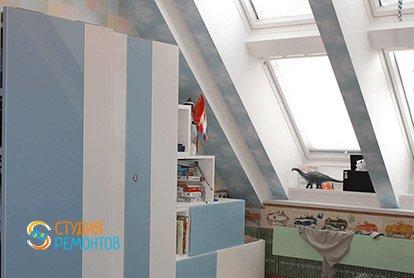 Дизайнерский ремонт детской в 3-х комнатной квартире 73 м2, фото-2