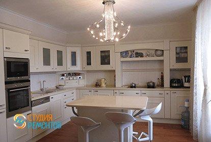 Дизайнерский ремонт кухни в 3-х комнатной квартире 73 м2