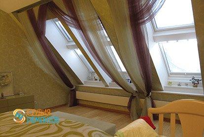 Дизайнерский ремонт спальни в 3-х комнатной квартире 73 м2, фото-1