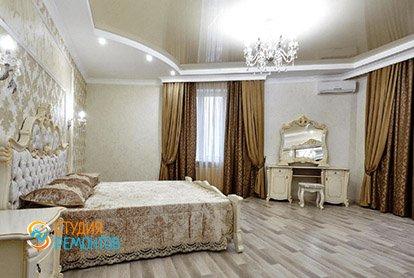 Дизайнерский ремонт жилой комнаты в 4-х комнатной квартире 86 кв.м.