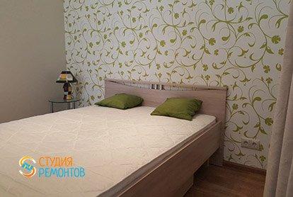 Дизайнерский ремонт комнаты с кухней в студии 31 кв.м., фото-2