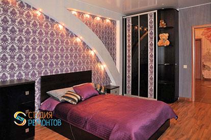 Дизайнерский ремонт спальни 12 кв.м.