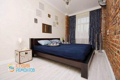 Дизайнерский ремонт спальни 13 кв.м.