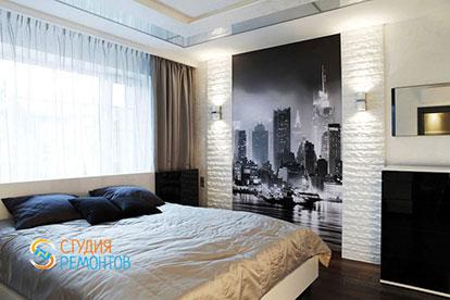 Дизайнерский ремонт спальни 16 кв.м.