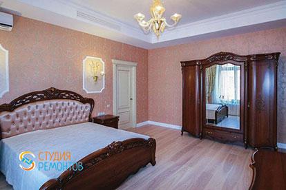 Дизайнерский ремонт спальни 24 кв.м.