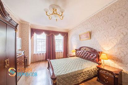 Дизайнерский ремонт спальни 25 кв.м.
