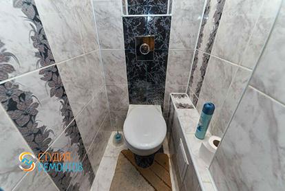 Дизайнерский ремонт туалета 2 кв.м.