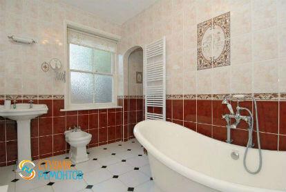 Дизайнерский ремонт ванной 10 кв.м.