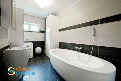 Дизайнерский ремонт ванной 12 кв.м.