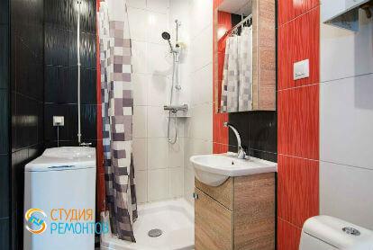 Дизайнерский ремонт ванной 4,5 кв.м.