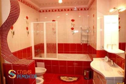 Дизайнерский ремонт ванной 5 кв.м.