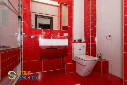 Дизайнерский ремонт ванной 6 кв.м.