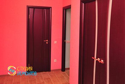 Евроремонт коридора в однокомнатной квартире 36,5 кв.м.