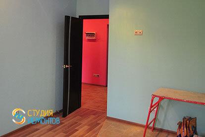 Евроремонт кухни в однокомнатной квартире 36,5 кв.м. фото-1