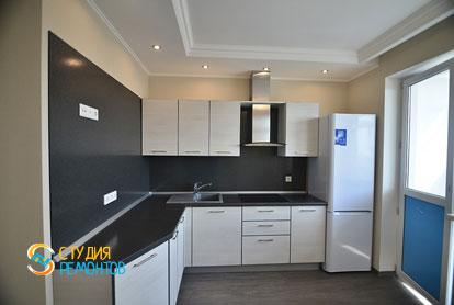 Евроремонт кухни в однокомнатной квартире 40 кв.м.