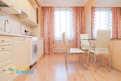 Евроремонт кухни в двухкомнатной квартире 47 кв.м.