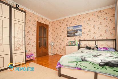 Евроемонт детской спальни в трехкомнатной квартире 71 кв.м.