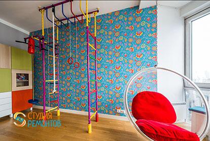 Евроремонт детской спальни в 3-х комнатной квартире 62 м2