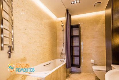Евроремонт санузла в 3-х комнатной квартире 62 м2