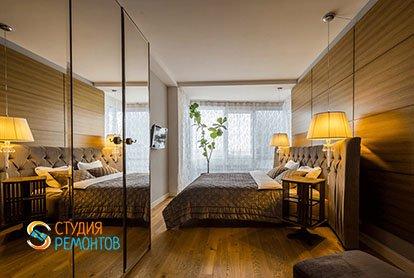 Евроремонт спальни в 3-х комнатной квартире 62 м2
