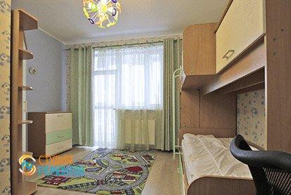 Евроремонт детской в 5-комнатной квартире 98 кв.м.
