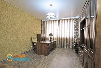 Евроремонт кабинета в 5-комнатной квартире 98 кв.м.