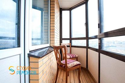 Евроремонт балкона 3,5 кв.м.