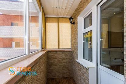 Евроремонт балкона 3 кв.м.