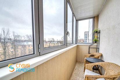Евроремонт балкона 4,5 кв.м.