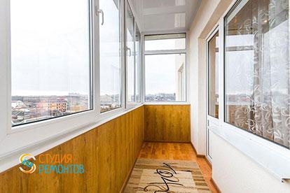 Евроремонт балкона 4 кв.м.