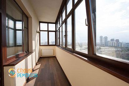 Евроремонт балкона 5 кв.м.