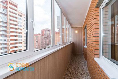 Евроремонт балкона 6 кв.м.
