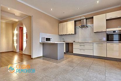 Евроремонт кухни в двухкомнатной квартире 52 кв. м.