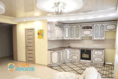Евроремонт кухни в однокомнатной квартире 45 кв. м.