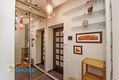Евроремонт комнаты с кухней в квартире-студии 32 кв.м., фото-2